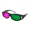 Kacamata 3D 4D nVidia Vision Green Magenta - Best Seller