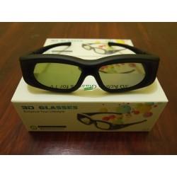 Kacamata 3D Active Shutter Glasses untuk Samsung, Sony, Toshiba, Sharp, Panasonic