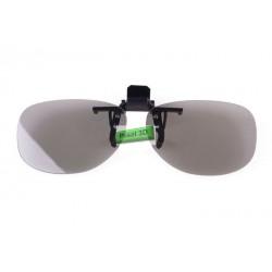 Kacamata 3D Polarized Clip On Untuk Di BlitzMega Plex Dan TV 3D LG Cinema 3D