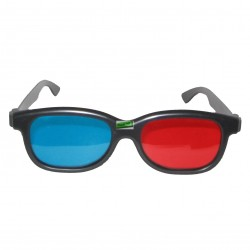 Kacamata 3D Polycarbonate Anaglyph Red Cyan - Best Price