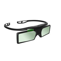 Kacamata 3D Active Shutter Glasses untuk Samsung, Sony, Toshiba, Sharp, Panasonic, Xiaomi MI TV 2, Changhong Bluetooth
