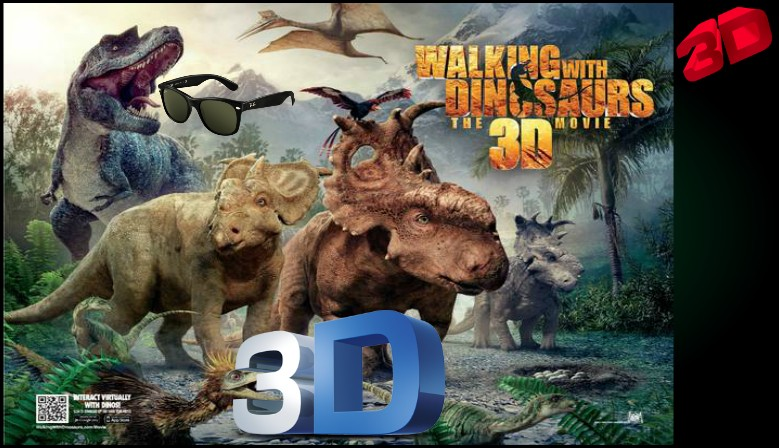 Walking with Dinosaurs Bluray 3D