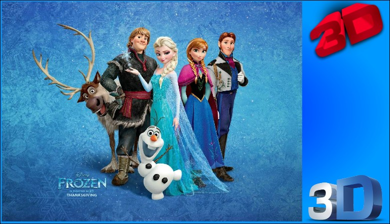 Frozen 3D Bluray 3D Murah